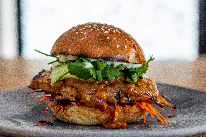 Chicken Satay Sandwich images