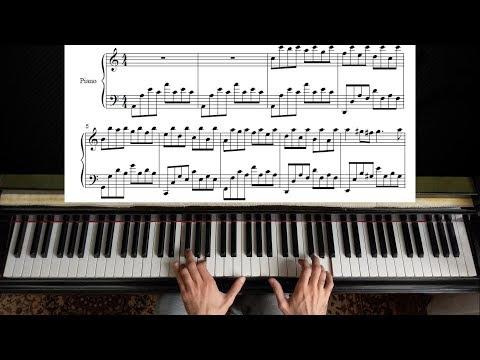 Passacaglia Handel Halvorsen Piano Tutorial Youtube Fortepiano Noty Fortepiano Noty Besplatno