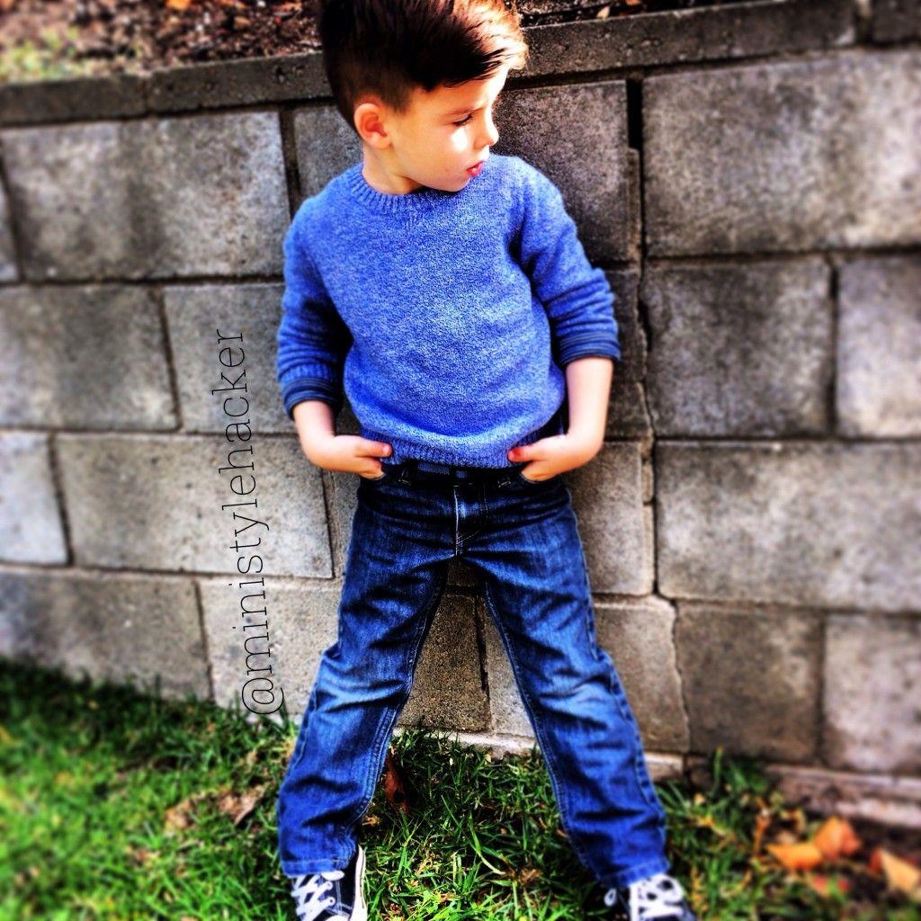 preschool boy style kid