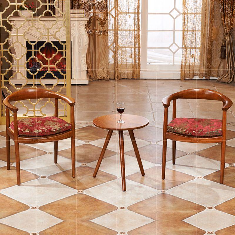 Foshan Factory Restaurant All Solid Wood Restaurant Chairs Reception Chairs Den Living Room Upscale A Wood Restaurant Chairs Restaurant Chairs Woods Restaurant