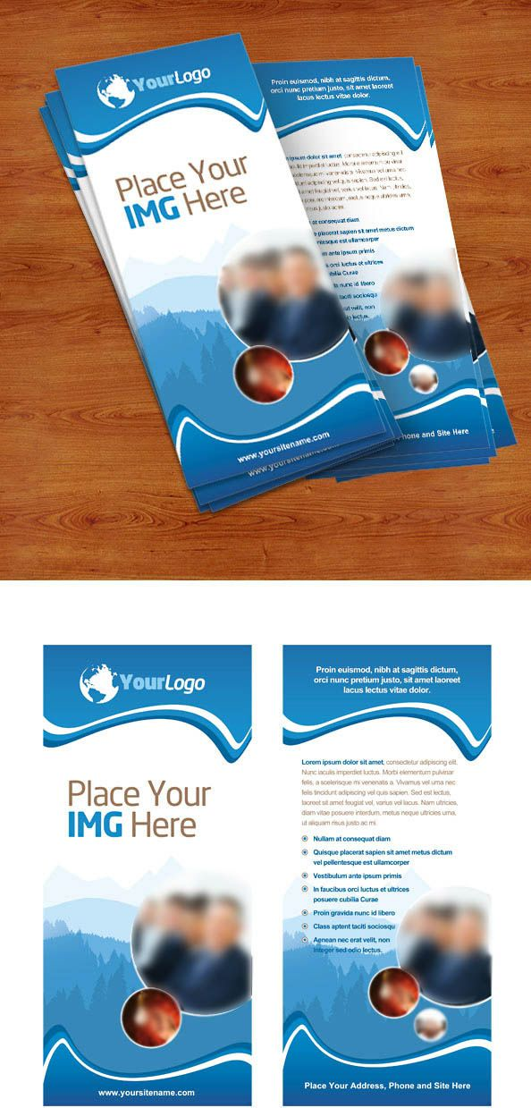 Free Rack Card PSD PSD Files And Photoshop Resources Pinterest - Free rack card template