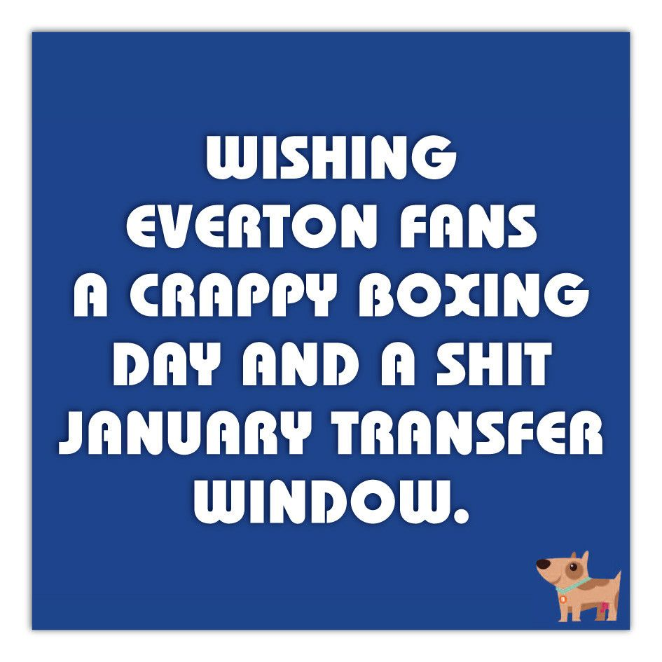 Hate Everton this Christmas