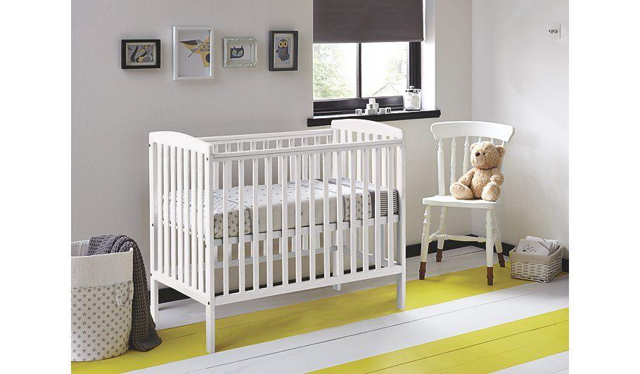 super popular 76bb5 8c8dd Kinder Valley Kai Cot - White | Nursery ideas | White ...