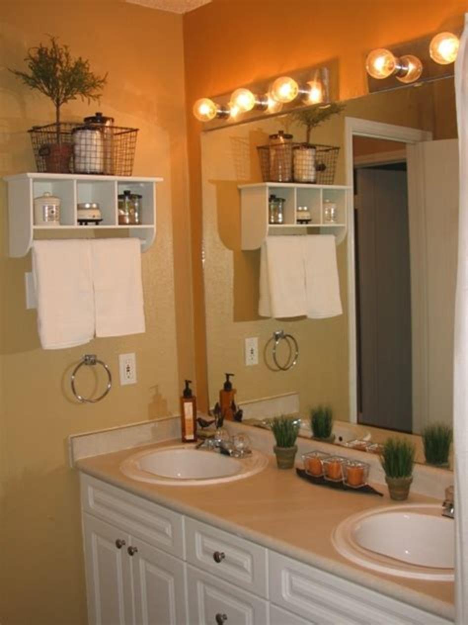 45 stunning bathroom decor ideas for small bathrooms 2019 on stunning small bathroom design ideas id=85899