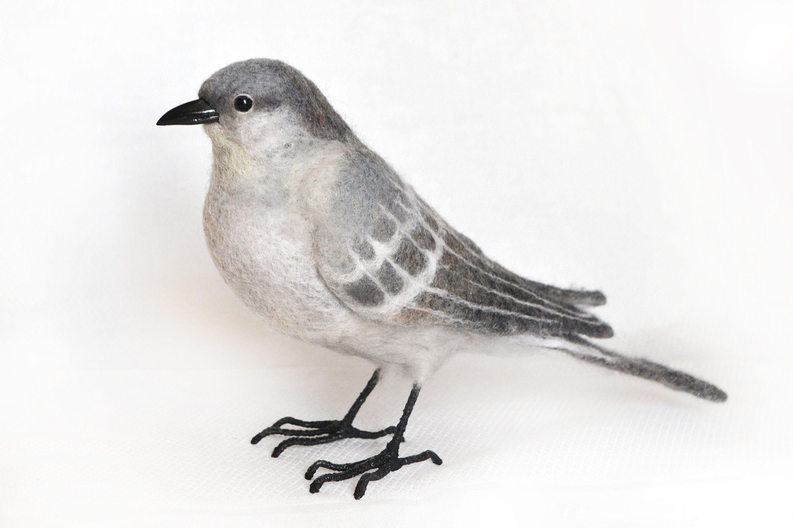 Etsy Housewares Homedecor Gray Northernmockingbird