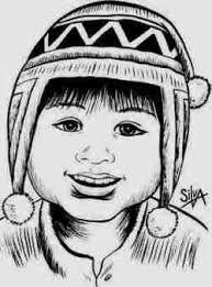 Resultado De Imagen Para Nino Andino Para Colorear Art Illustration Male Sketch