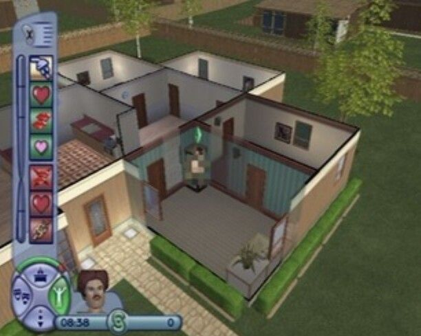 The Sims 2 Gamecube Rockwell Acres