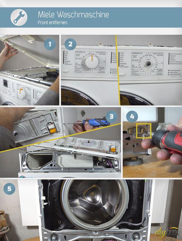 Waschmaschine Front zerlegen Waschmaschine, Wäsche