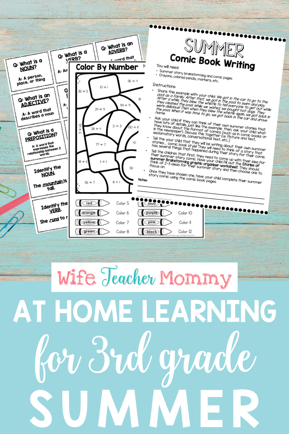 small resolution of 3rd Grade Summer Review Packet