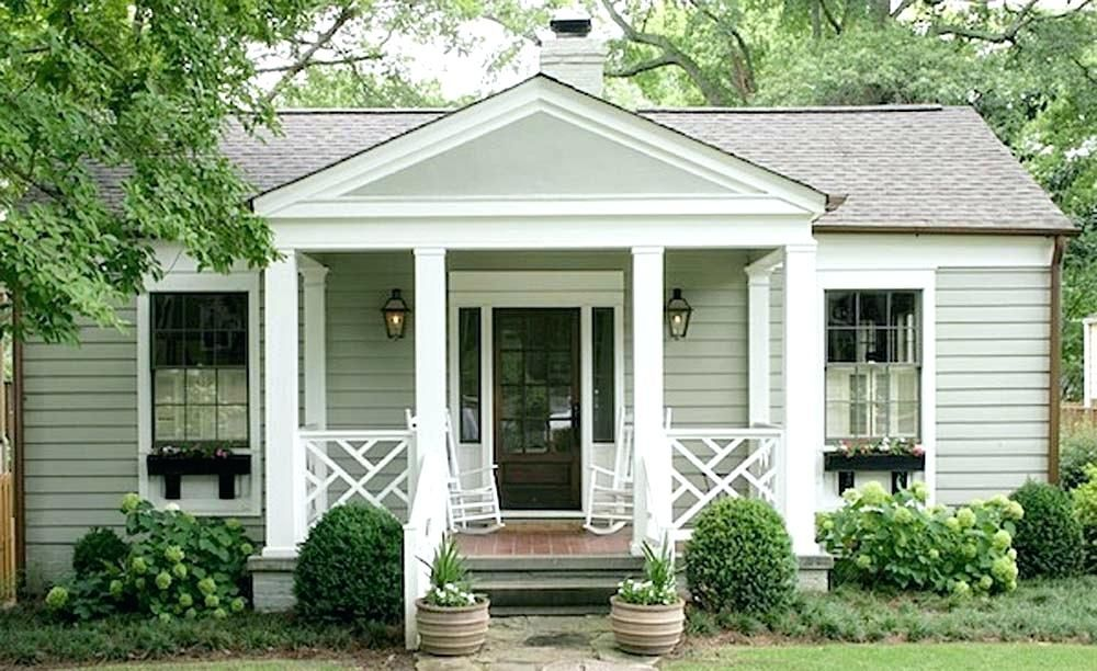 Small Front Patio Ideas Small Front Porch Ideas On A Budget Small Front Porch Designs Uk Cottage Exterior Porch Design House Exterior