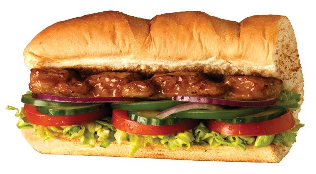 Subway Pork Riblet Sandwich Cooking Recipes Fast Food Items Pork