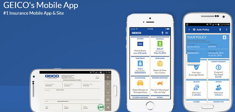 Geico Mobile App Finance Apps Samsung Galaxy Phone Mobile Review
