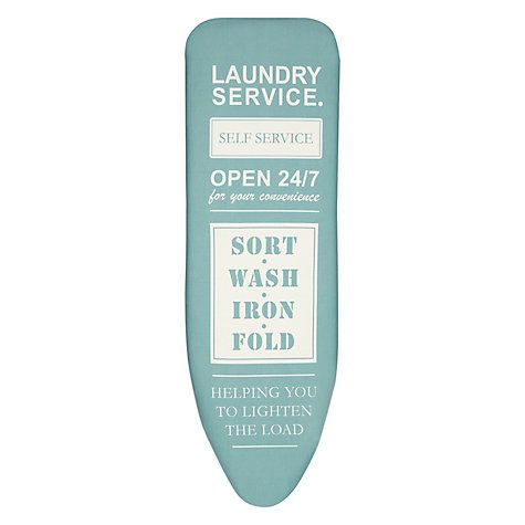 cc2b2ad038eb Buy John Lewis Laundry Service Ironing Board Cover Online at johnlewis.com