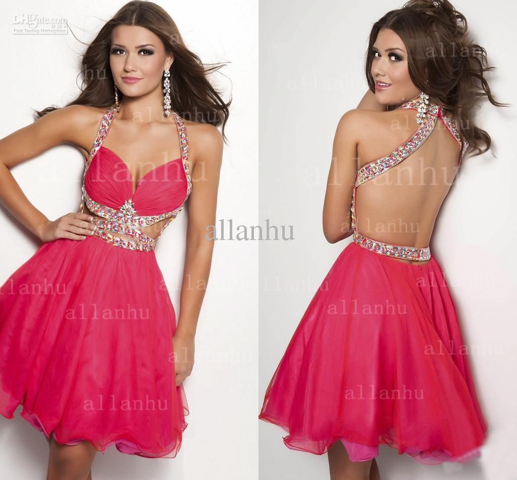 new fashion dark red burgundy arabic short prom dresses sheer