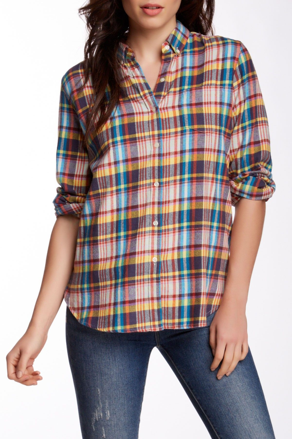 2d2f00a478f Classic Plaid Flannel Shirt