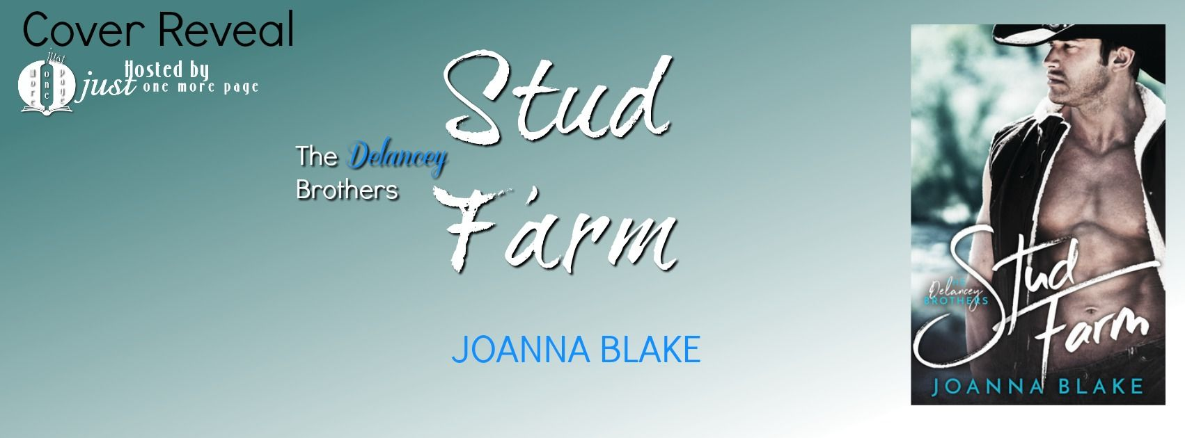 Teatime and Books: Cover Reveal ~ Stud Farm - The Delancey Brothers b...