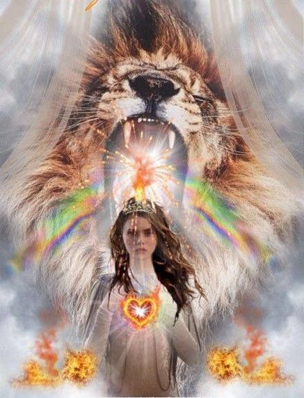 Pin by Just For You Prophetic Art on •♥•THE DAUGHTER OF A LION - IS A LION•♥• | Prophetic art, Bride of christ,  Jesus art