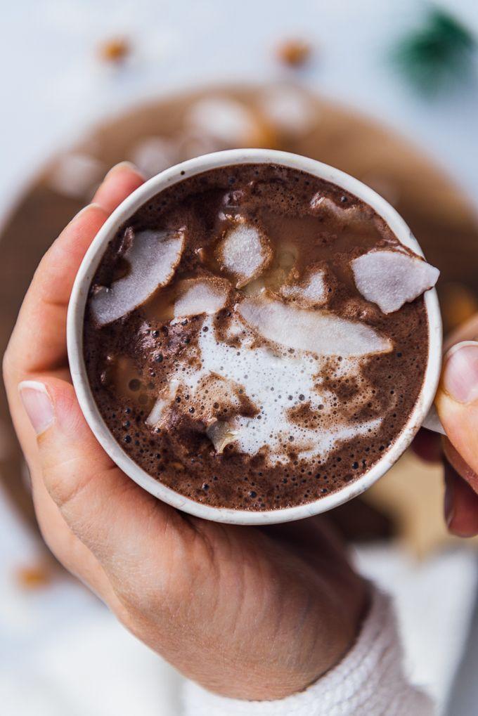 Almond Milk Hot Chocolate Recipe No Sugar Vegan Give Recipe Recipe In 2020 Almond Milk Hot Chocolate Recipe Hot Chocolate Recipe No Sugar Milk Recipes