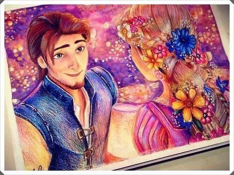 Enredados De Disney Hermosa Ilustracion 3 Disney Princess Drawings Disney Art Disney Drawings