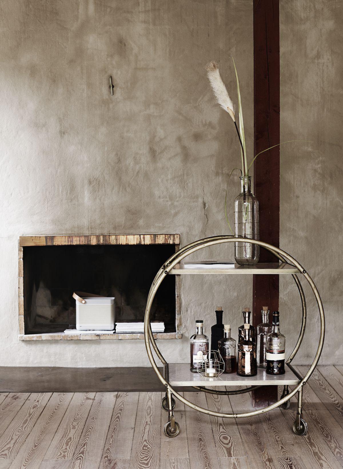 art deco drinks trolley antique brass & marble designvintage.co.uk