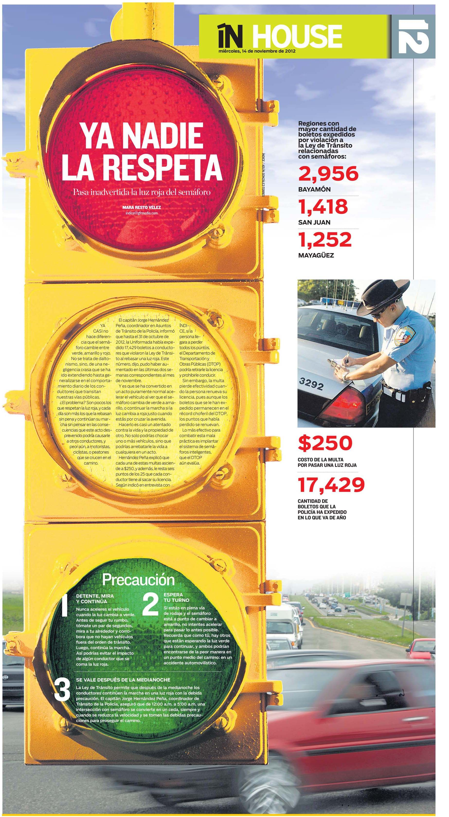 ínhouse Sobre Los Semáforos Newspaper Design Tops Designs Design
