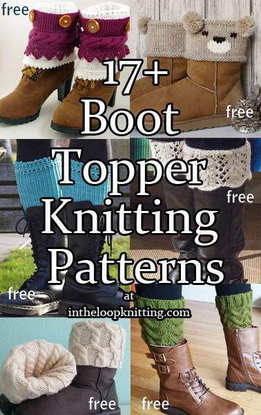 Boot Cuff Knitting Patterns #bootcuffs
