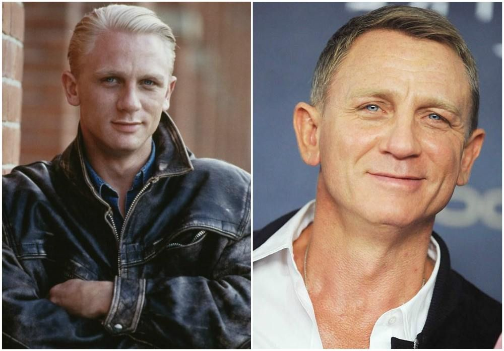 Daniel Craig`s eyes color - blue and hair color - blonde ...