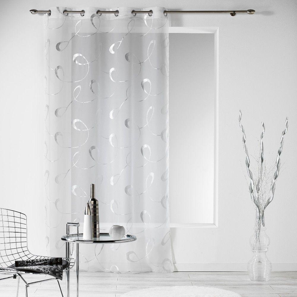 gifi voilage rideau voilage blanc