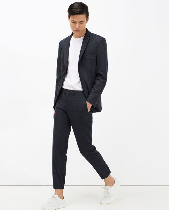 Image 1 of SLIM FIT SUIT from Zara | The Look | Pinterest | Fit ...