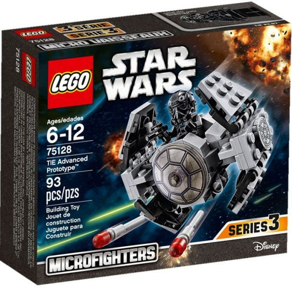 NEW LEGO Star Wars Microfighters Series 3 TIE ADVANCED PROTOTYPE 75029-93 pcs