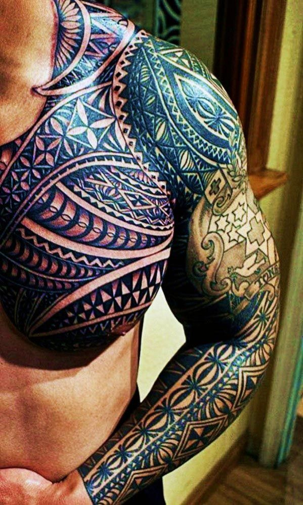 Top 60 Best Tribal Tattoos For Men Symbols Of Courage Tattoos