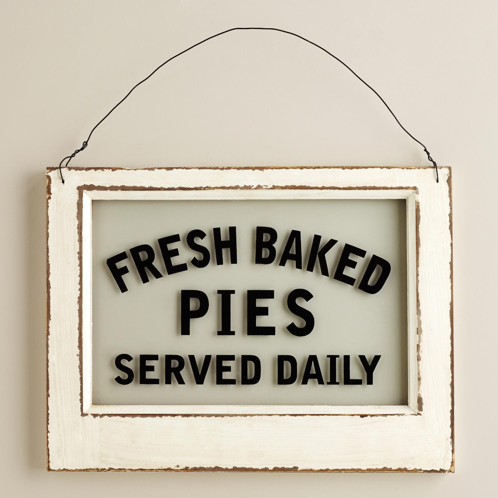 Shabby Chic Pantry Signs