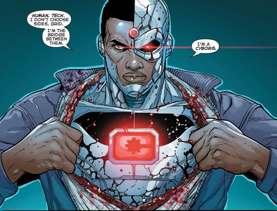 Image result for cyborg dc rebirth