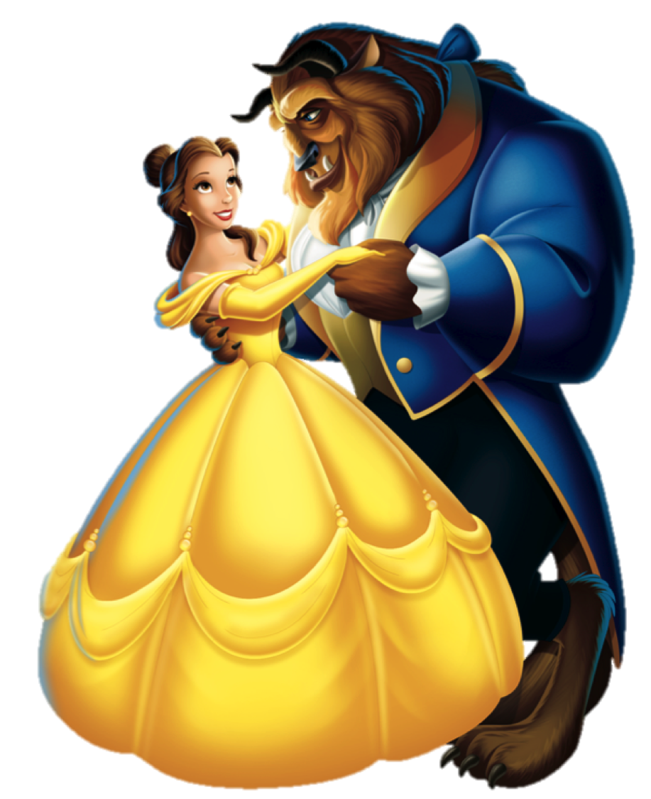Image result for Belle and the Beast animated picture