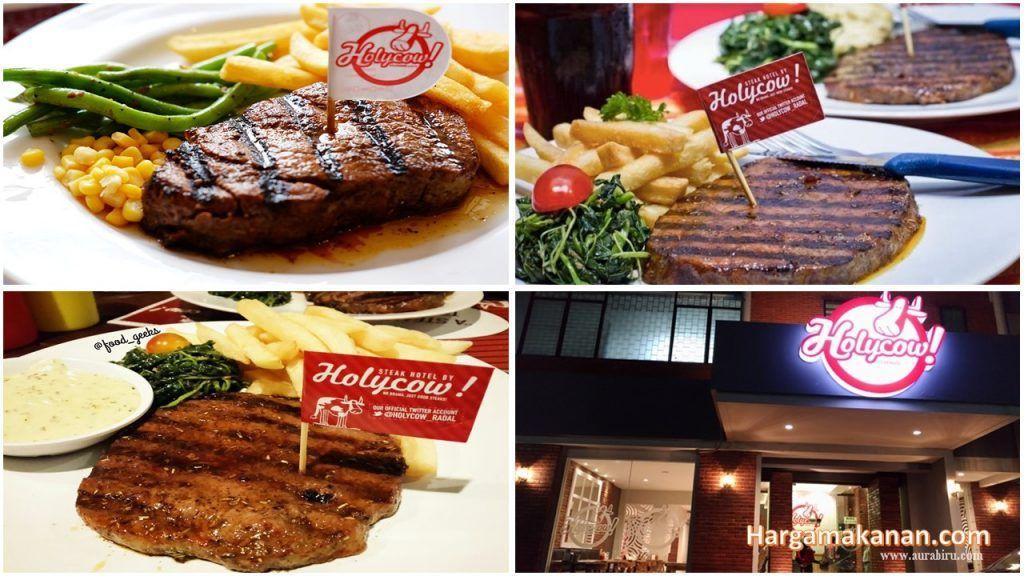 Steak Holycow Surabaya Harga Menu Makanan Steak, Food