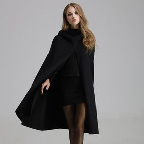 59618947b56a1 Fashionable High End Handcraft Double Sided Cashmere Coat Winter Women  Clothing Medium Long Woolen Outer Wear Female