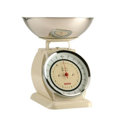 Typhoon Bella Cream Retro Kitchen Scales
