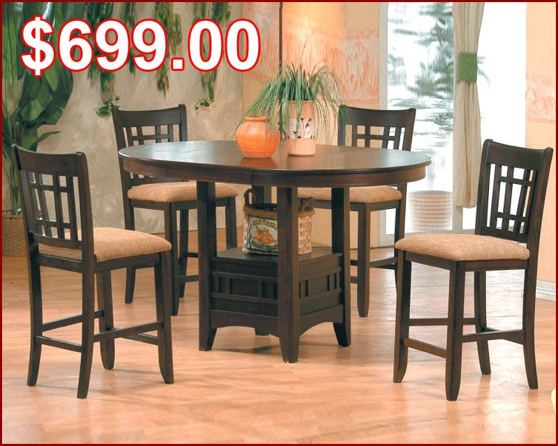 Oval pub set in espresso mo 4560 dining area tables pinterest oval pub set in espresso mo 4560 watchthetrailerfo
