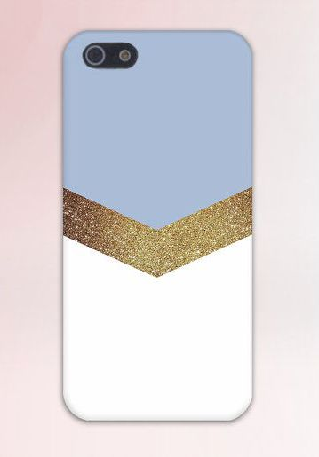 Gouden Switch Glitter cover iPhone 6/6S