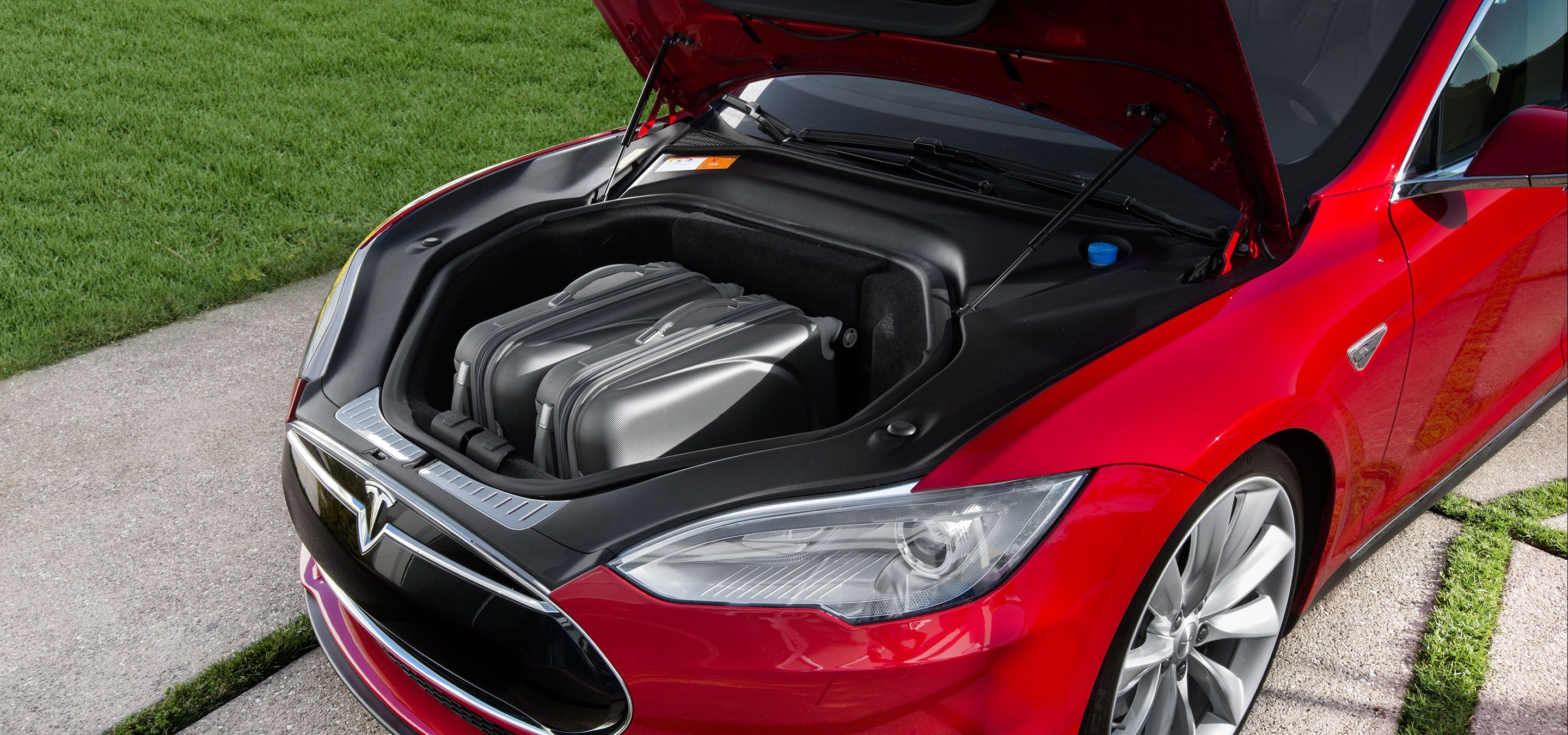 Model S | Tesla Motors  Perfect for groceries or golf clubs