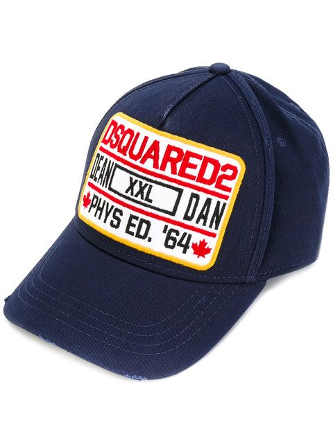 DSQUARED2 Logo Patch Cap.  dsquared2  cap   Dsquared2 Men   Cap ... a73cd7e3e1d