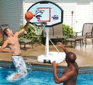 Huffy Pool Side Basketball Hoop Basketball Accessories Basketball Pool Games Pool Basketball