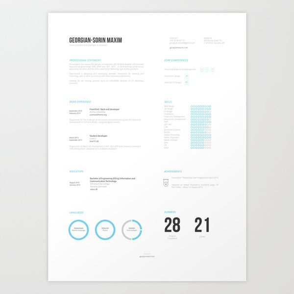Friday Freebies Collection of free CV templates! Hexagon Vita by - resume download free