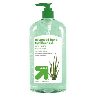 Aloe Hand Sanitizer Gel 32 Fl Oz Up Up Hand Sanitizer