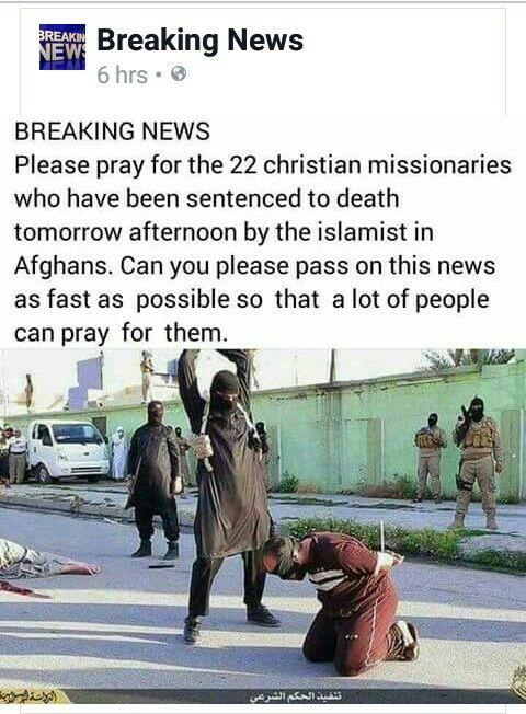 22 christian missionaries sentenced