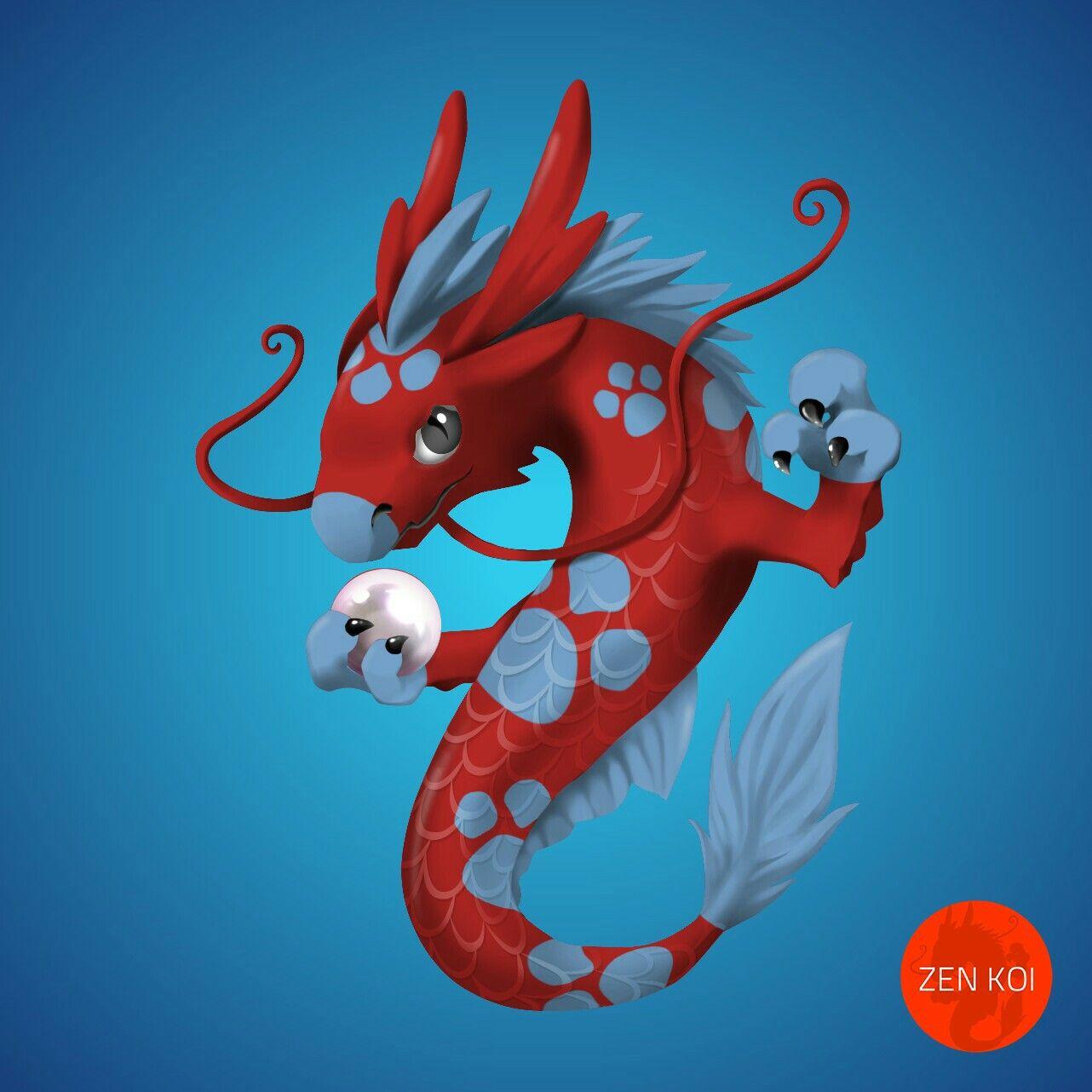 Akaao Ashiato (Rare) Koi dragon, Disney characters, Olaf