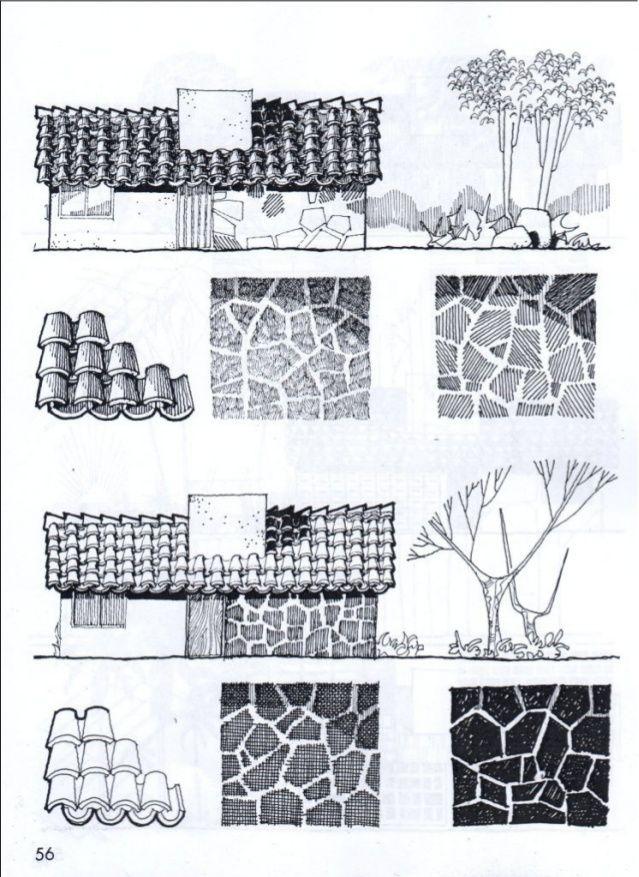 Tecnicas Y Texturas En Dibujo Arquitectonico Dibujo Arquitectonico Arquitectura De Acuarela Dibujo De Arquitectura