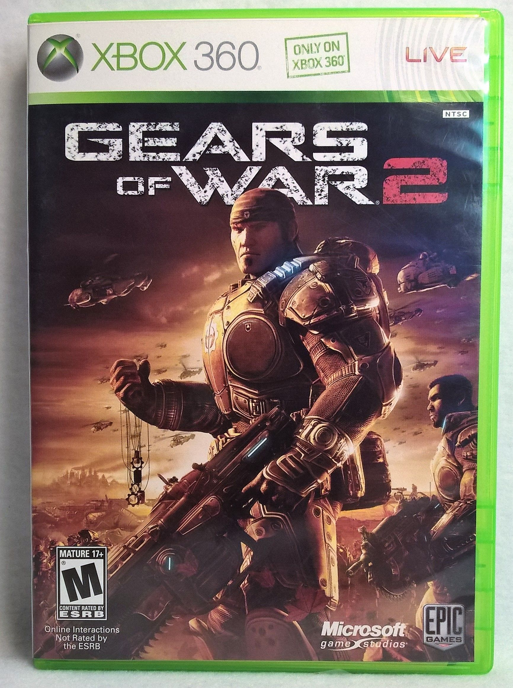 Xbox 360 Gears Of War 2 Gears Of War Gears Of War 2 Xbox 360 Games