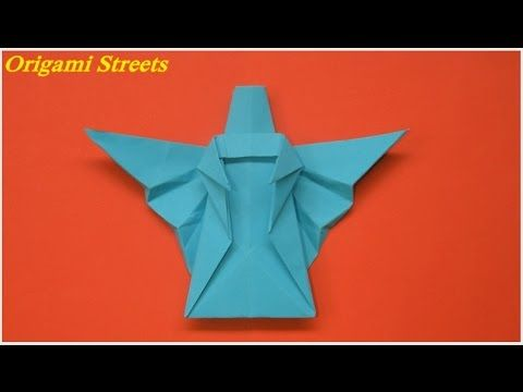 How to make an angel out of paper Origami angel - YouTube