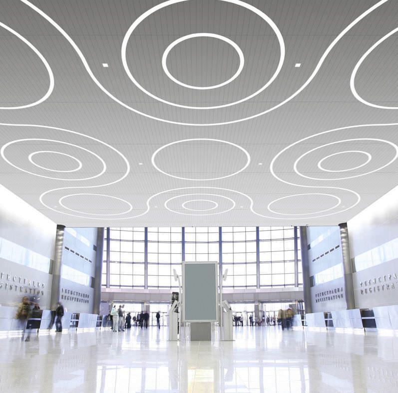 ceiling lighting design Contemorary Decorations Linear
